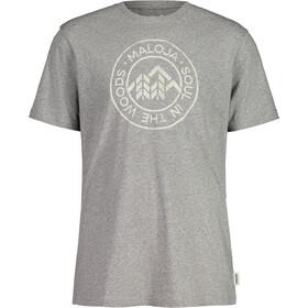 Maloja RotbirneM. SS T-shirt Herrer, grå
